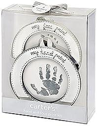 Carter\'s Hand and Foot Print Keepsake, Silver
