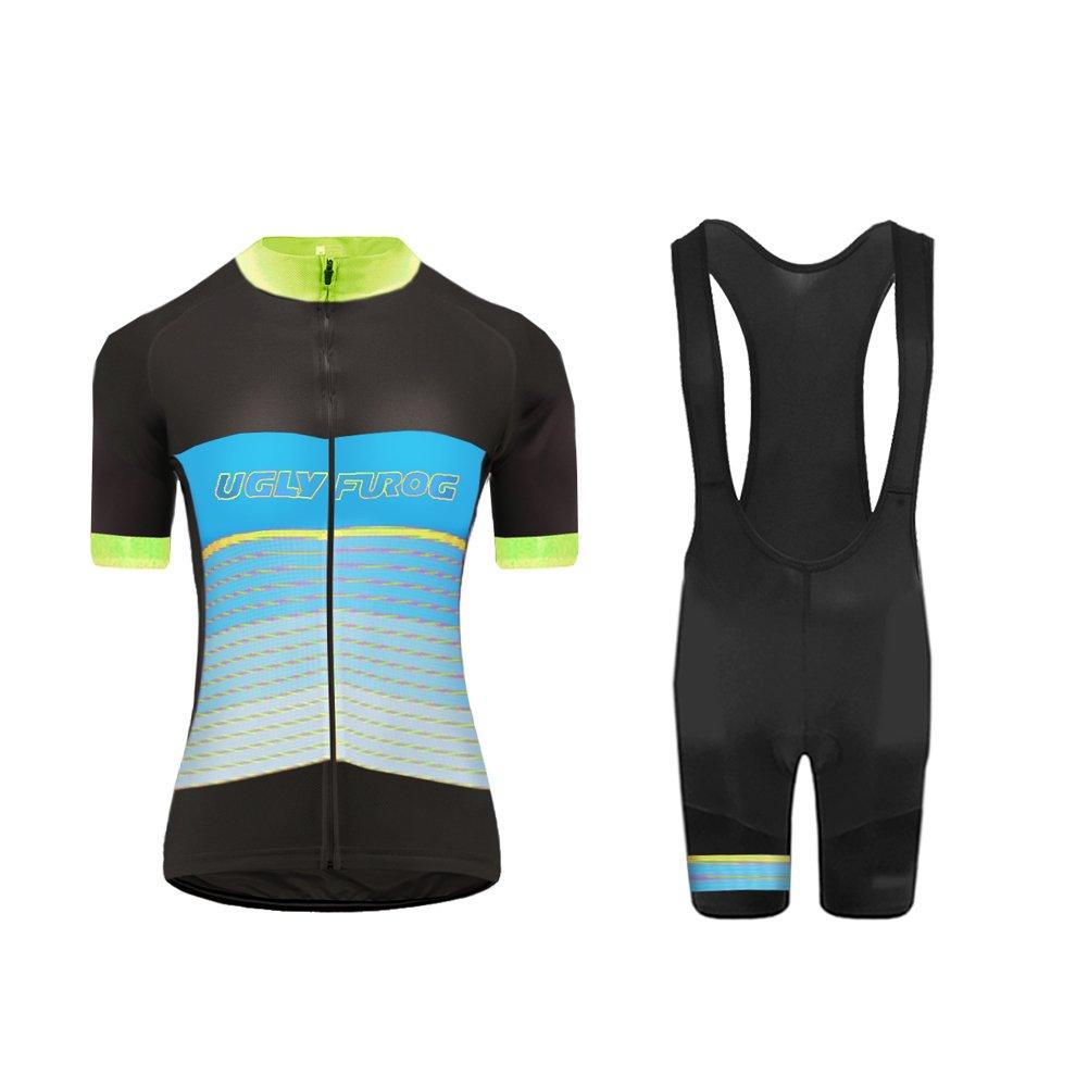 Uglyfrog 2018 Sommer Damen Cycling Jersey Männer Trikots & Shirts Atmungsaktiv Mode Bunt Sport Bekleidung DX01
