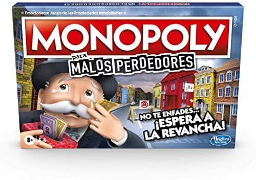 Monopoly- Malos Perdedores (Hasbro E9972105): Amazon.es: Juguetes y juegos