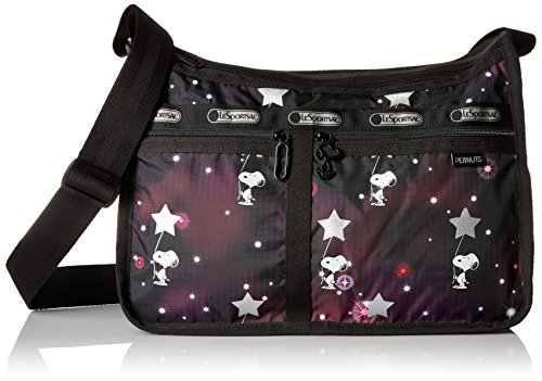 Snoopy Stars (LeSportsac Peanuts X Deluxe Everyday Bag, Snoopy in the)
