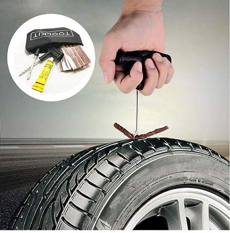 Kit de reparación de neumáticos sin tubos para caravana con 25 ...