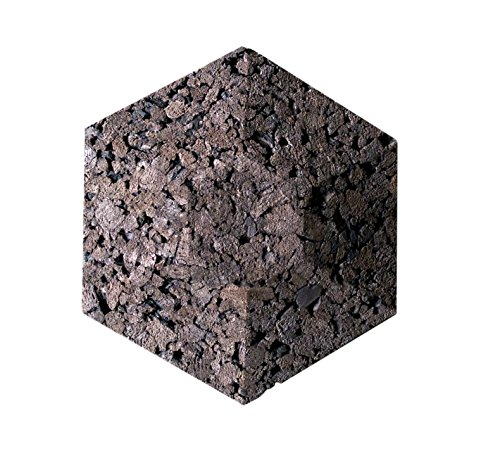 Cork Wall Acoustic Hexagons 10 Count Noise And Thermal