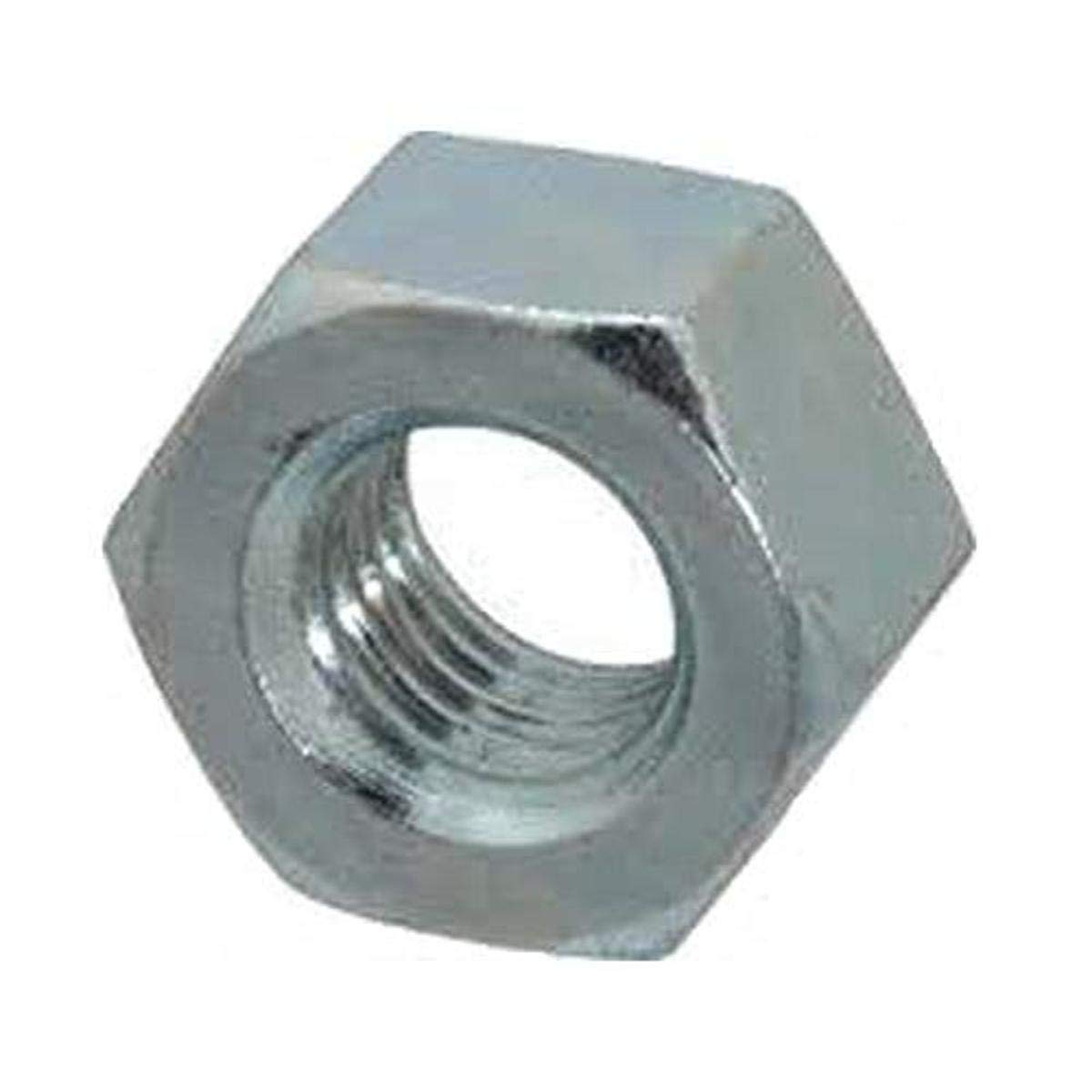 2-56 Thread Size Small Parts FSC2HNSZ Low-Strength Steel Hex Nut Fastcom Supply 2-56 Thread Size Pack of 100 Pack of 100 Zinc Plated
