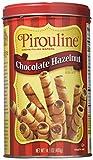 Creme De Pirouline Chocolate Hazelnut (Pack of 2 14 Oz Tins)
