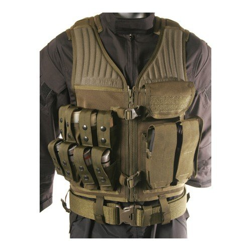 BLACKHAWK! Omega Operator Olive Drab Vest - 40mm/Rifle by BLACKHAWK!