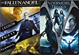 Underworld Trilogy + Fallen Angel DVD - movie Set - (Underworld / Underworld: Evolution / Underworld: Rise of the Lycans)(LEGION / PRIEST / GABRIEL)