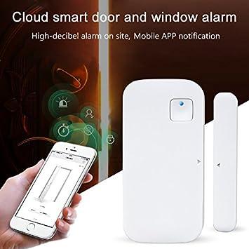 Jennyard WiFi Smart Puerta Alta decibelios Ventana Sensor ...
