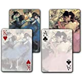 Dancers in Blue / Dancers in Pink - Double Deck Playing Cards