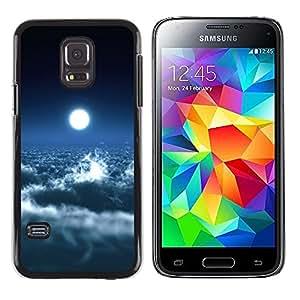 Caucho caso de Shell duro de la cubierta de accesorios de protección BY RAYDREAMMM - Samsung Galaxy S5 Mini, SM-G800, NOT S5 REGULAR! - Space Planet Galaxy Stars 39