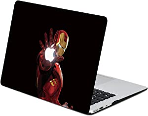AQYLQ MacBook Pro 13 inch Case 2020 Release A2251 & A2289, Plastic Protective Snap On Hard Shell Cover for Mac Pro 13 inch with Touch Bar,Iron Man KT-1