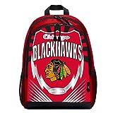 """NHL Chicago Blackhawks """"Lightning"""" Backpack, 6.5"""" x"""