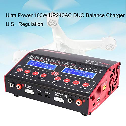 Wikiwand Ultra Power UP 240 AC Duo 2in1 240W Battery RC Balance Charger Discharger by Wikiwand (Image #3)