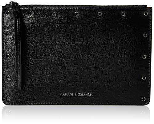 (A|X Armani Exchange Large Pouch, nero)