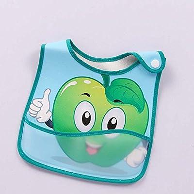 ❀ Babero Para NiñO Baberos Nena Pack Toalla Babero Bebe NiñA Babero Babero Mangas Babero Pant Babero Para NiñA Babero Camisa Baby Kids Saliva Bibs NiñO PequeñO Y NiñA Cartoon Fruits Print (
