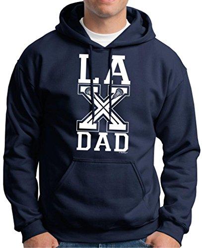 Lacrosse LAX Dad Premium Hoodie Sweatshirt XX-Large Navy