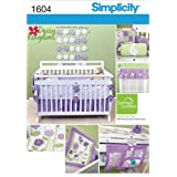 Simplicity Creative Patterns 1604 Daisy Kingdom Nursery Accessories