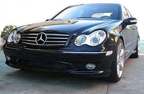 01 - 07 Mercedes W203 C-Class Rejilla Frontal de 3 Fin Sport ...