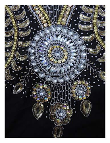 Abaya Dress Top Farasha Style Women's Kaftan Maxi Caftan Jalabiya Dubai Long OKM Magenta 0fAT4vw