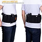 Belly-Band-Holster-Fullmosa-Mi-Waistband-for-Pistol-Gun-Holder-Abdomen-Belt-with-4-Mag-Pouches-for-Concealed-Carry-Fits-Glock-Ruger-Sig-Sauer-for-Men-Women-Right-Left-hand-and-Back-Draw