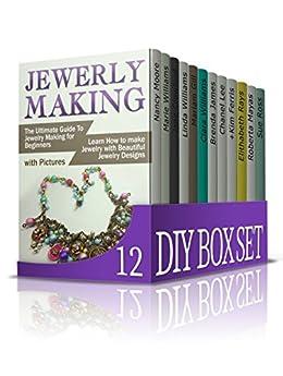 diy box set 12 books 1 jewelry making 2 candle making