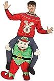 Fun World Carry Me Elf Adult Costume-