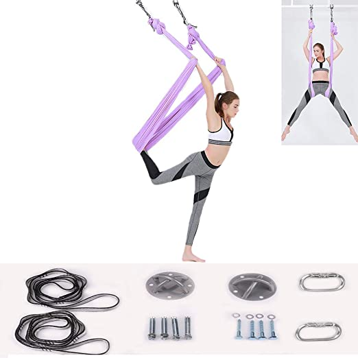 YUJIADC Hamaca de Yoga Yoga Swing/Sling/Inversion Trapeze ...