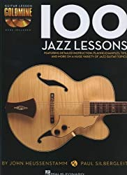 John Heussenstamm/Paul Silbergleit: 100 Jazz Lessons (Buch & 2 CD) (Guitar Lesson Goldmine)