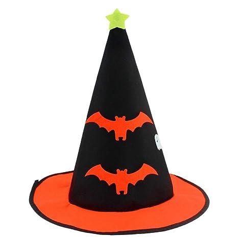 Wa Halloween Cappello Zucca Cappello Non Tessuto Cappello Strega Vacanza  Puntelli Copricapo Decorazione Regali cd42049551c4
