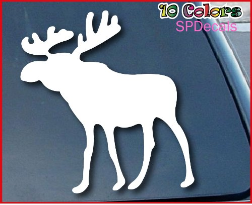 Abercrombie & Fitch Moose Car Window Vinyl Decal Sticker 4