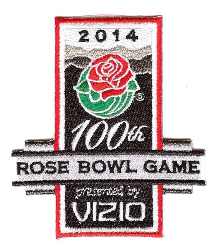 2014 Vizio Rose Bowl Game in Pasadena Jersey Patch (100th (Pasadena Collection)