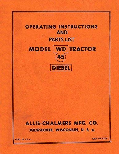 51zTU0UeCfL amazon com parts manual wd wd45 allis chalmers wd wd wd45 wd45