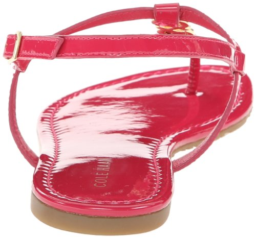 Cole Haan Dameswerk Lederen Sandaal Raspberry Patent