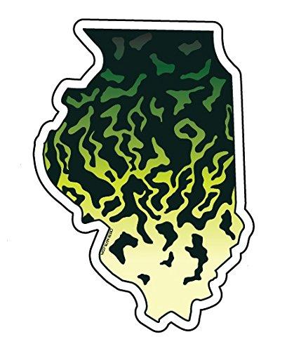 Mountain Creek Anglers Illinois Black Crappie Sticker Decal