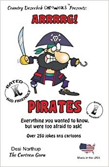 Book Pirates -- Arrrrg ! -- Over 250 Jokes and Cartoons: in Black + White