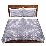DiaNoche Designs Microfiber Duvet Covers Metka Hiti - Southwest Arrows Purple