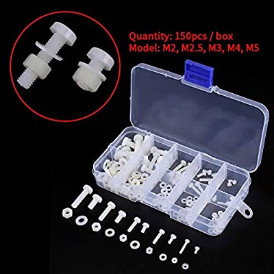 M5 Nylon Rondelles 2 tailles à choisir Diverses Quantités Disponibles