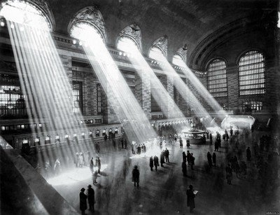 8 x 10 Fuji Film Photo Grand Central Station Nyc, 1929 A mostly Art Stuff Product