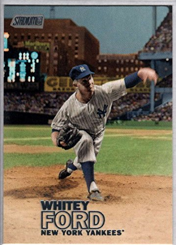 Baseball MLB 2016 Topps Stadium Club #50 Whitey Ford NM-MT Yankees (Baseball Whitey Ford)