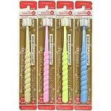 360度歯ブラシ 360do度毛歯ブラシ POPOTAN ぽぽたん 優(カラーは1色おまかせ)