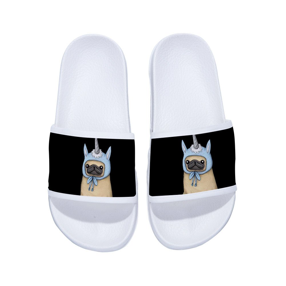 Drew Toby Sandals for Boys Girls Beach Sandals Indoor Floor Slipper Dog(Little Kid/Big Kid)