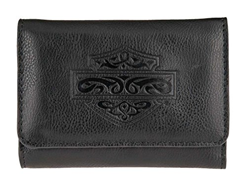 Harley Davidson Womens Celtic Embossed Leather Wallet