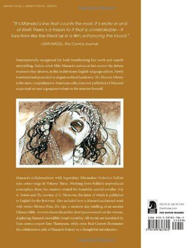 The Manara Library Volume 3