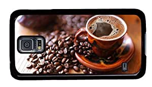 Hipster for sale Samsung Galaxy S5 Cases hot black coffee PC Black for Samsung S5