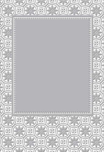 Couture Creations Embossing Folder Cabaret Romantique Collection, Transparent EFC0723163