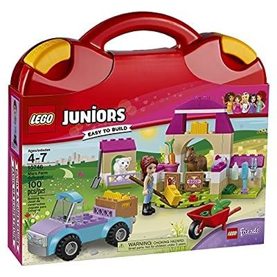 LEGO Juniors Mia's Farm Suitcase 10746: Toys & Games