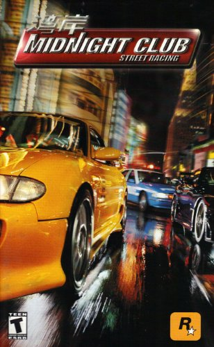Midnight Club Street Racing PS2 Instruction Booklet (Sony Playstation 2 Manual Only) (Sony Playstation 2 Manual)