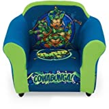 Delta Children Plastic Frame Upholstered Chair, Nickelodeon Teenage Mutant Ninja Turtles