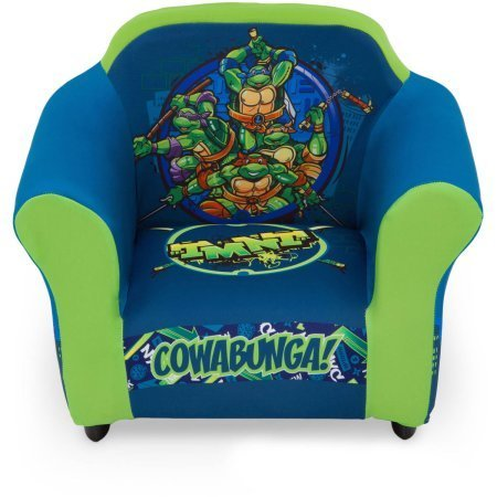 Delta Children Plastic Frame Upholstered Chair, Nickelodeon Teenage Mutant Ninja Turtles by Delta Children
