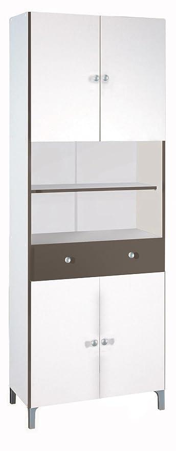 Schön Küchenregal Mit Türen Galerie - Küchen Ideen - celluwood.com