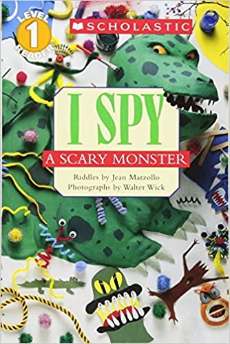 Amazon Scholastic Reader Level 1 I Spy A Scary Monster